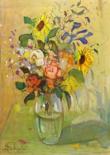 Dino pelagatti post macchiaioli painter tutt 39 art for Quadri fiori famosi