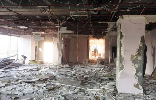 Yapı Kredi Bank Yenibosna şube tadilatı