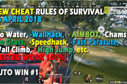 Cheat Rules of Survival Glutamin 6.0 Update 16-17 April 2018 Aimbot, Wallhack, Speedhack, Fast Parasute