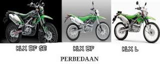 Perbedaan KLX L,  KLX BF Dan KLX BF SE Yang Perlu Kamu Ketahui