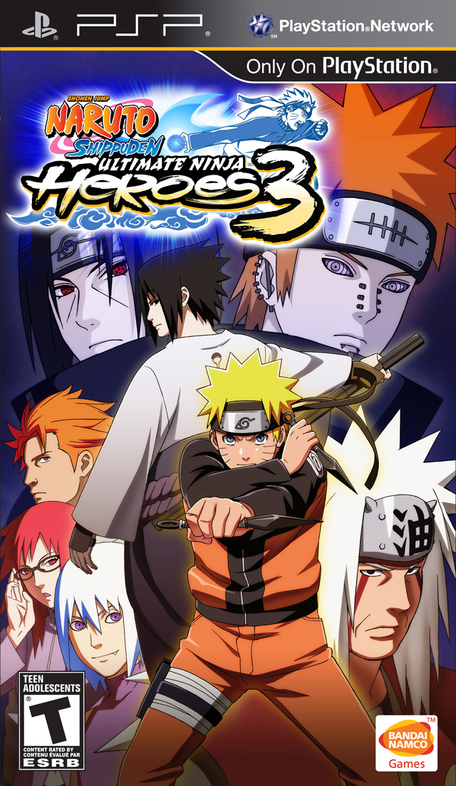 ROMs - Naruto Ultimate Ninja Heroes 3 - PSP Download