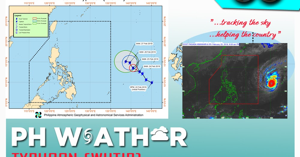 Philippine weather update for Typhoon {WUTIP} as of 4:00 AM 25 February 2019 - PAGASA - PH Trending