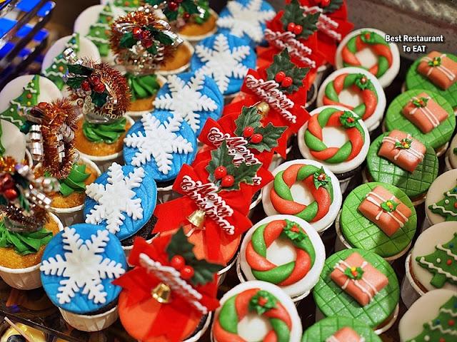 Christmas 2019 Sunway Hotel Resort Spa Dessert Menu - Assorted Cupcakes