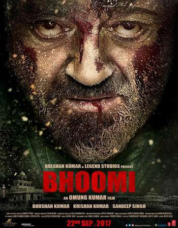 Bhoomi 2017 Hindi 600MB HDRip 720p ESubs HEVC