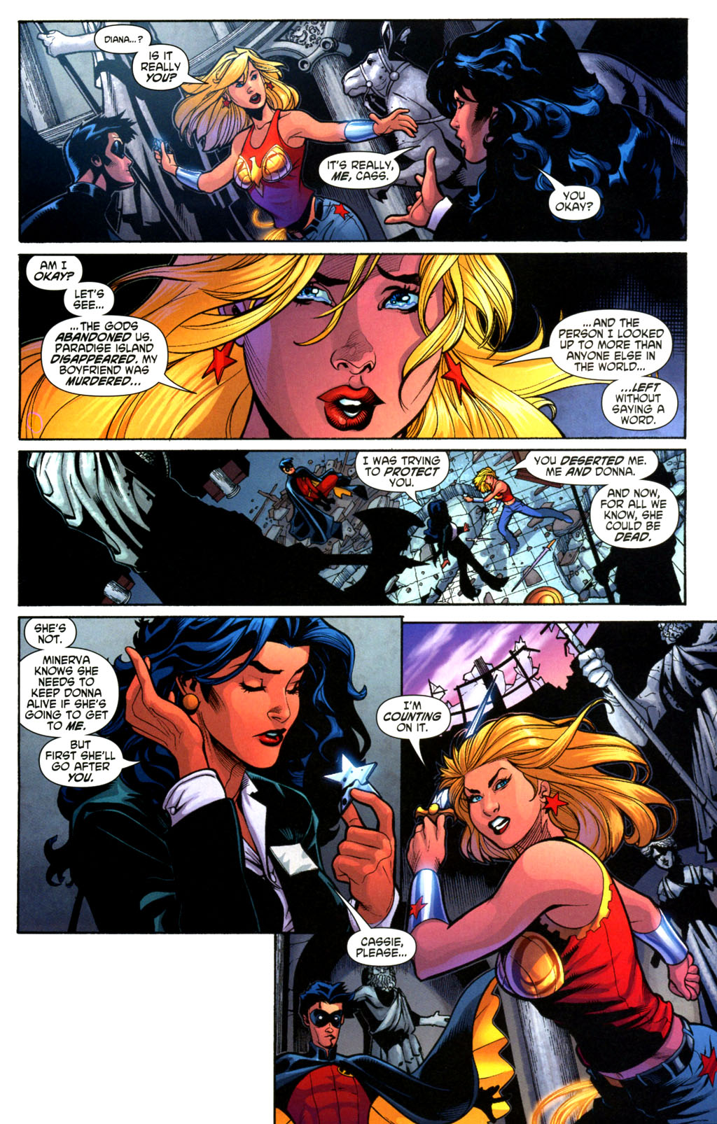 Read online Wonder Woman (2006) comic -  Issue #2 - 11