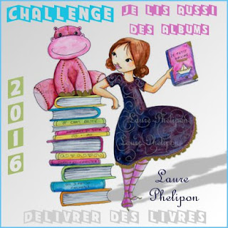 """Challenge """"Je lis aussi des albums"""" 2016"""