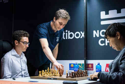 Fabiano Caruana bat Wesley So et remporte le tournoi d'échecs Norway Altibox - Photo © site officiel