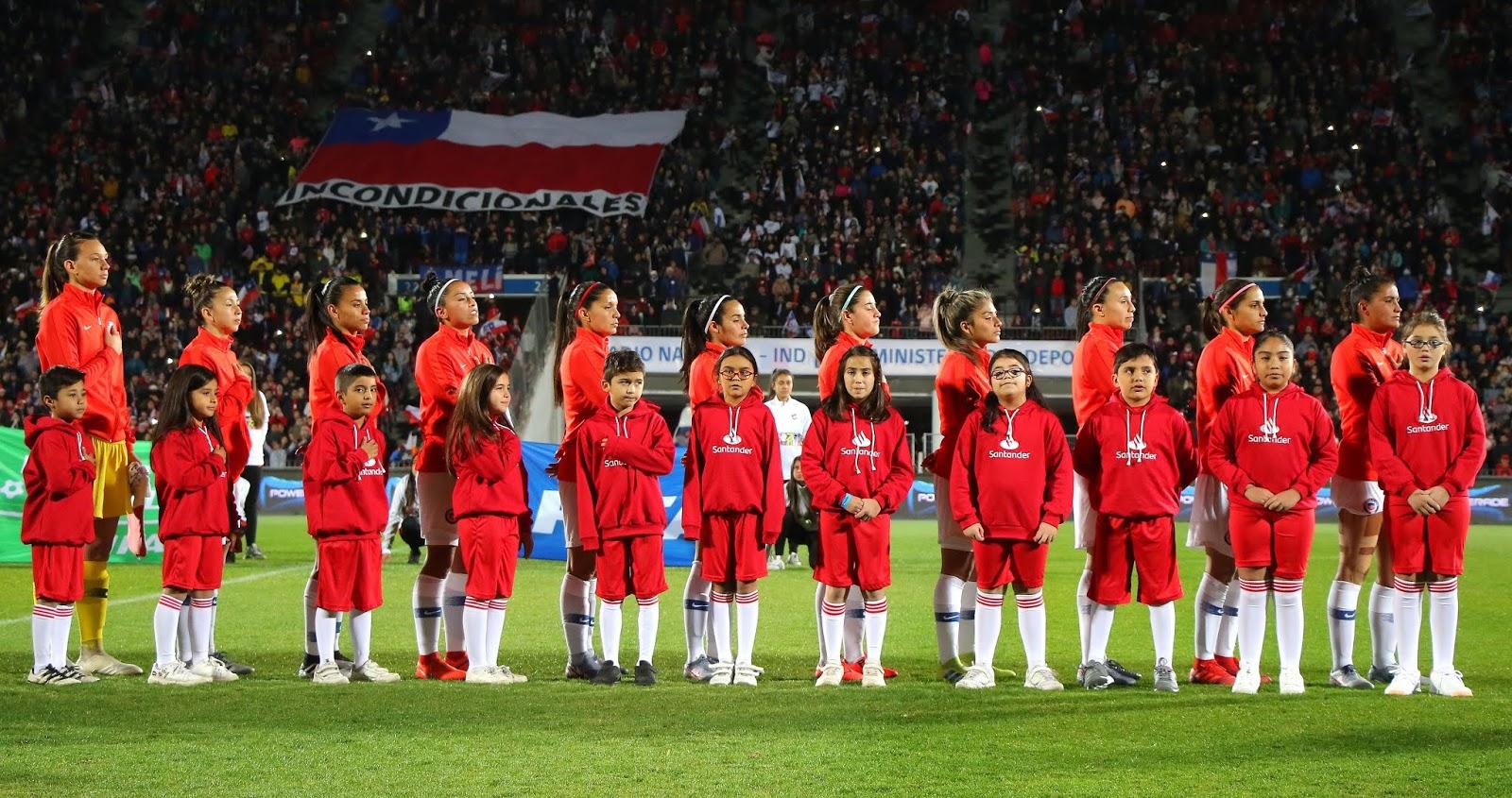Selección femenina de fútbol de Chile