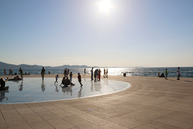 Croatia Travel Blog Post, Zadar- Salutations to the Sun