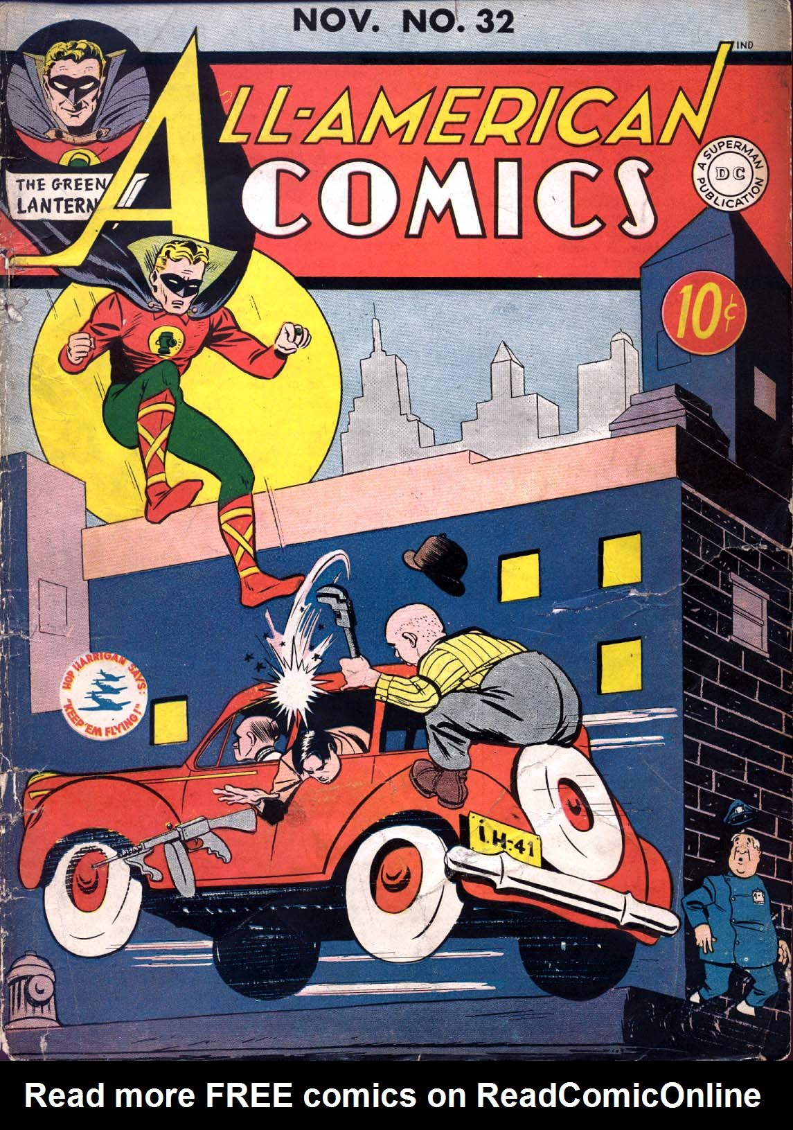 Read online All-American Comics (1939) comic -  Issue #32 - 1