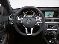 2011 Mercedes C63 AMG Coupé Black Series Steering wheel cockpit dashboard