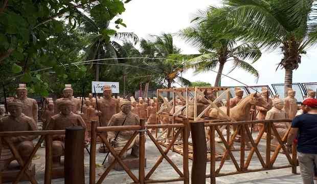 Patung Terakota di Bangka