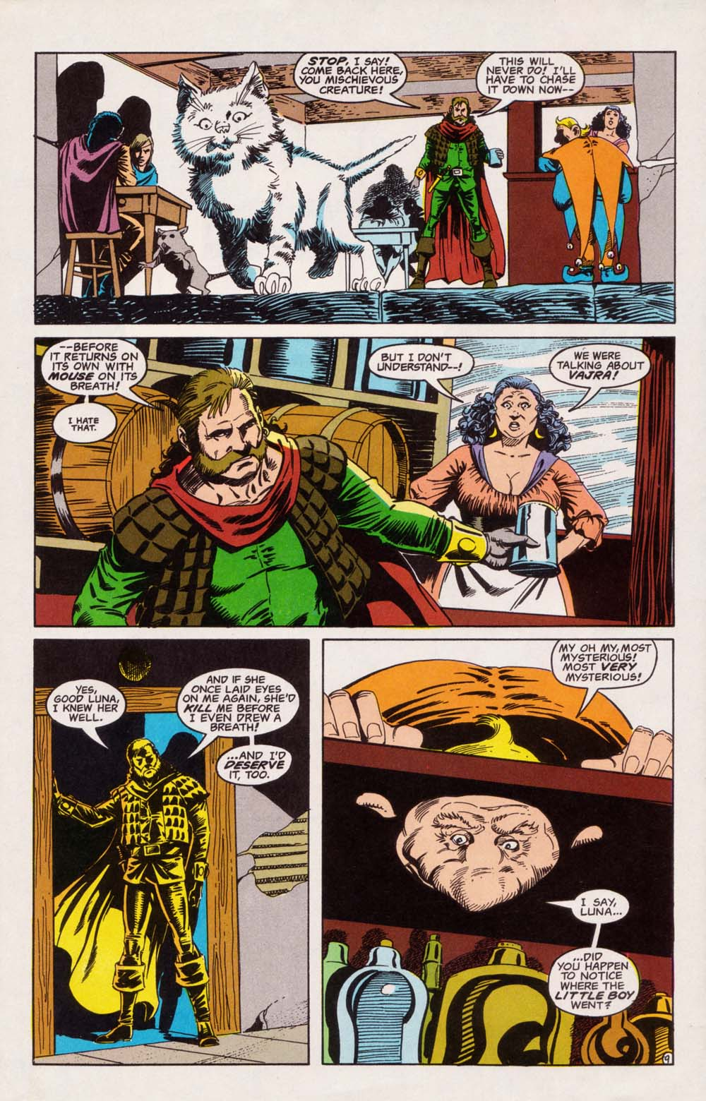 Read online Advanced Dungeons & Dragons comic -  Issue #5 - 10