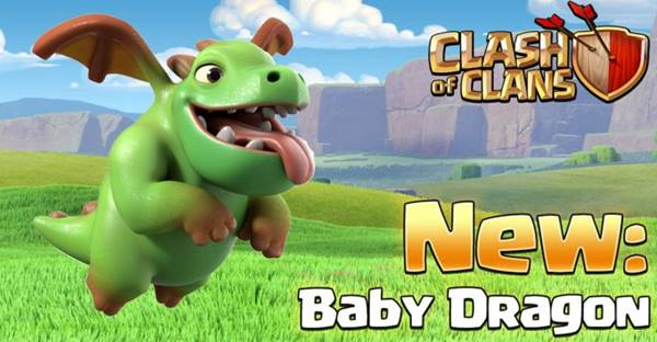 Free Download COC 8.332.6 .APK Update Clash of Clans Mei 2016 Baby Dragon Terbaru Gratis APK+DATA