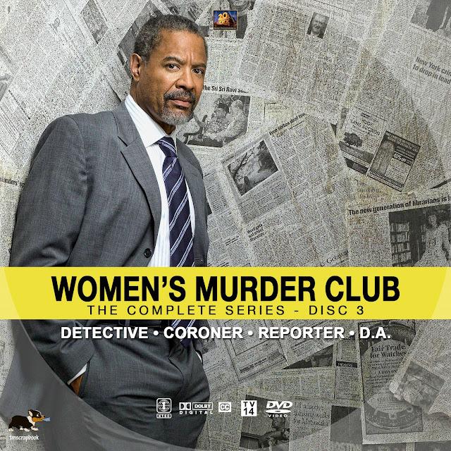 Women's Murder Club Disc 3 DVD Label