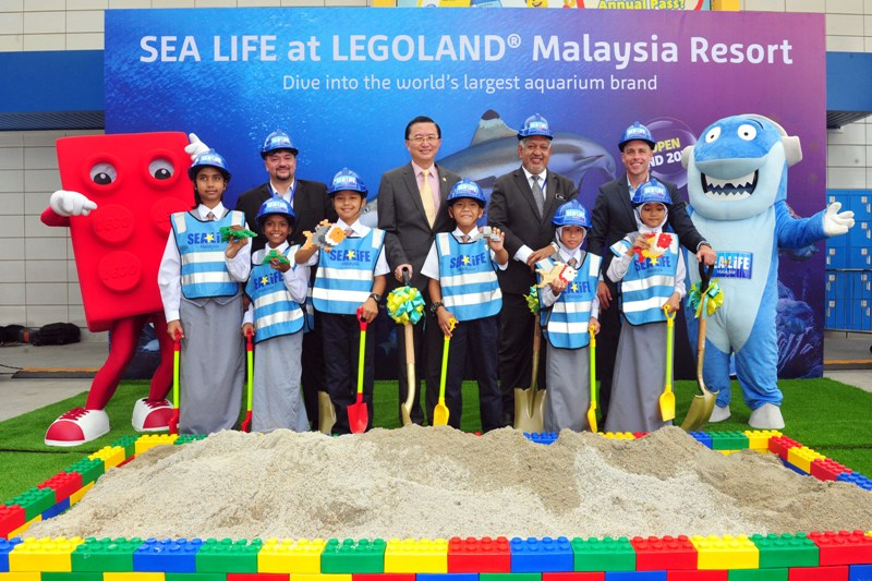 legoland malaysia resort sea life official announcement ceremony