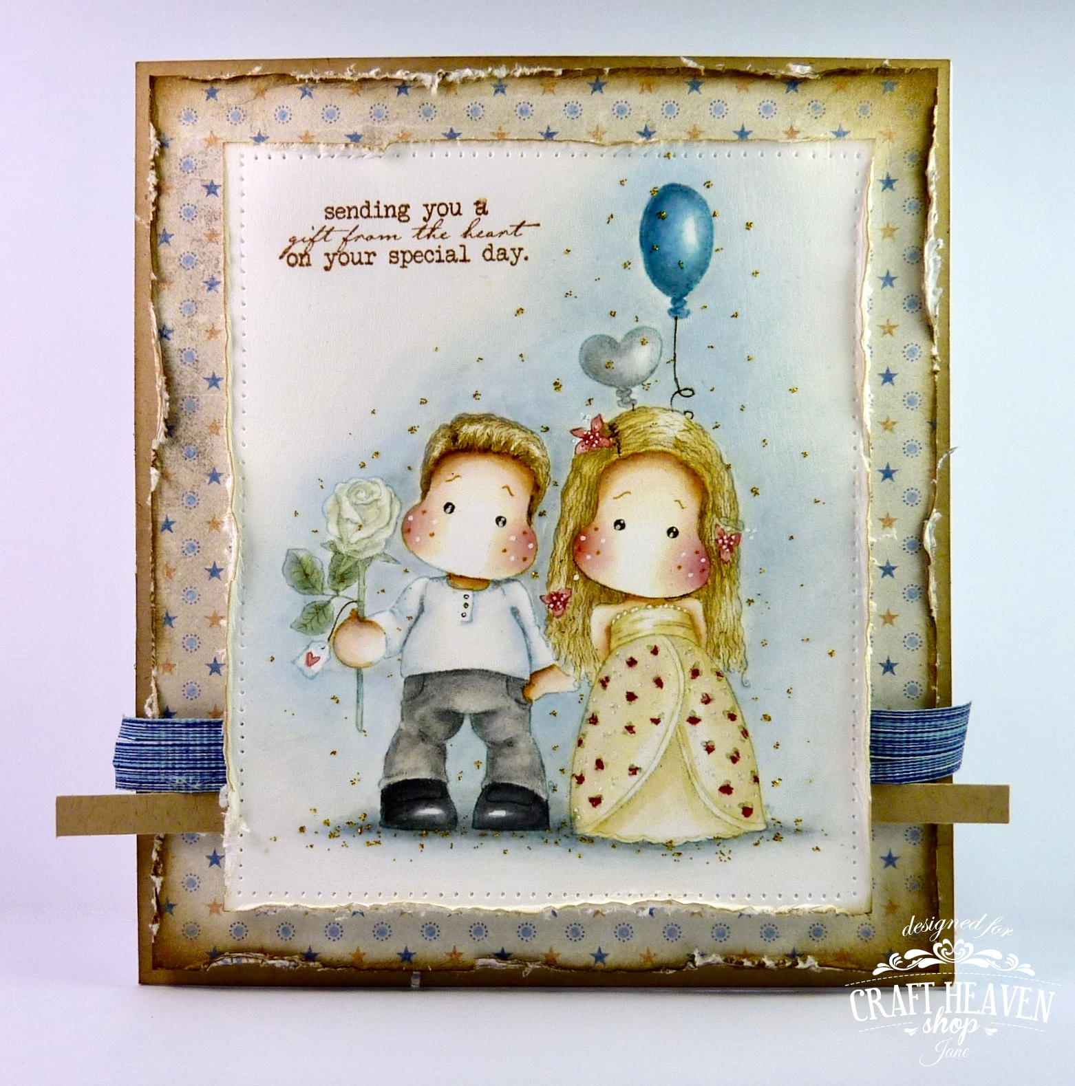 Janes Lovely Cards Craft Heaven DT
