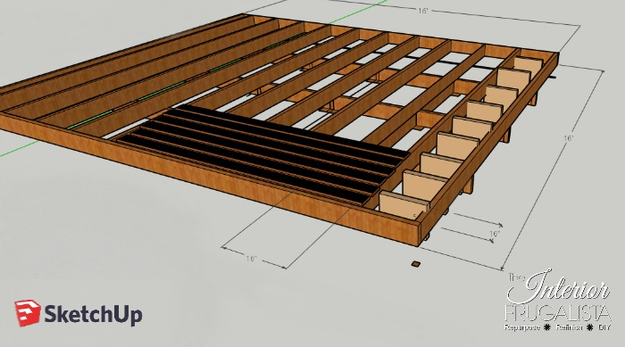 Budget-Friendly Deck Restore Diagram