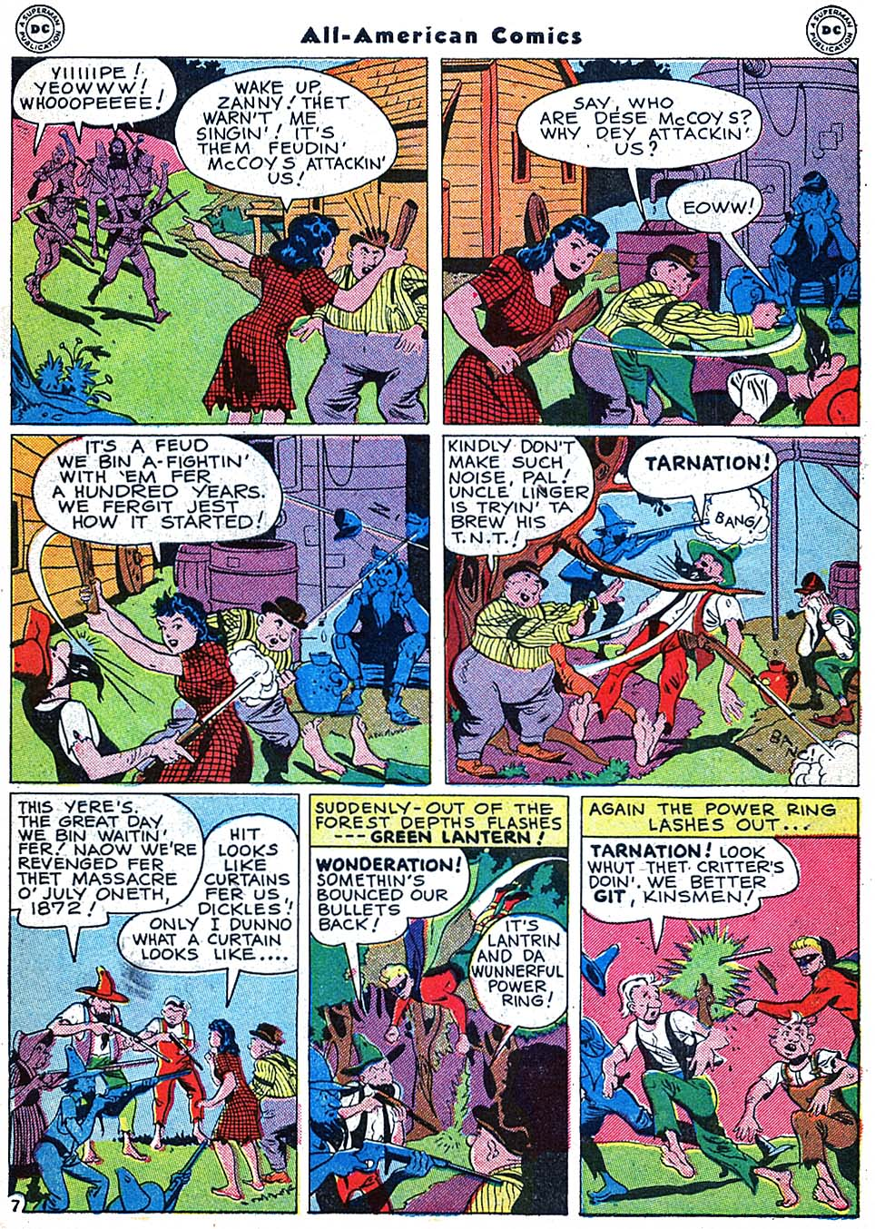 Read online All-American Comics (1939) comic -  Issue #73 - 9