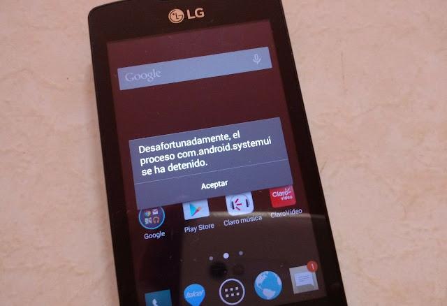 Resolver errores comunes en Smartphones LG - LA APLICACIÓN SE HA DETENIDO