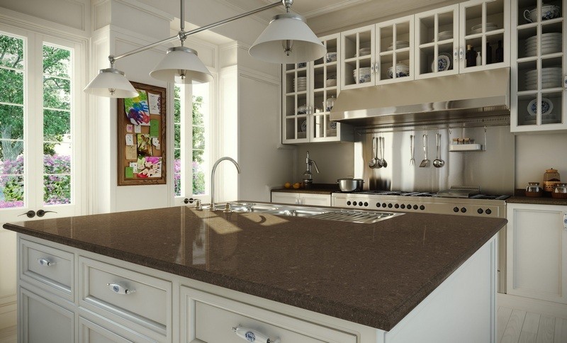 Clamshell Quartz Worktops