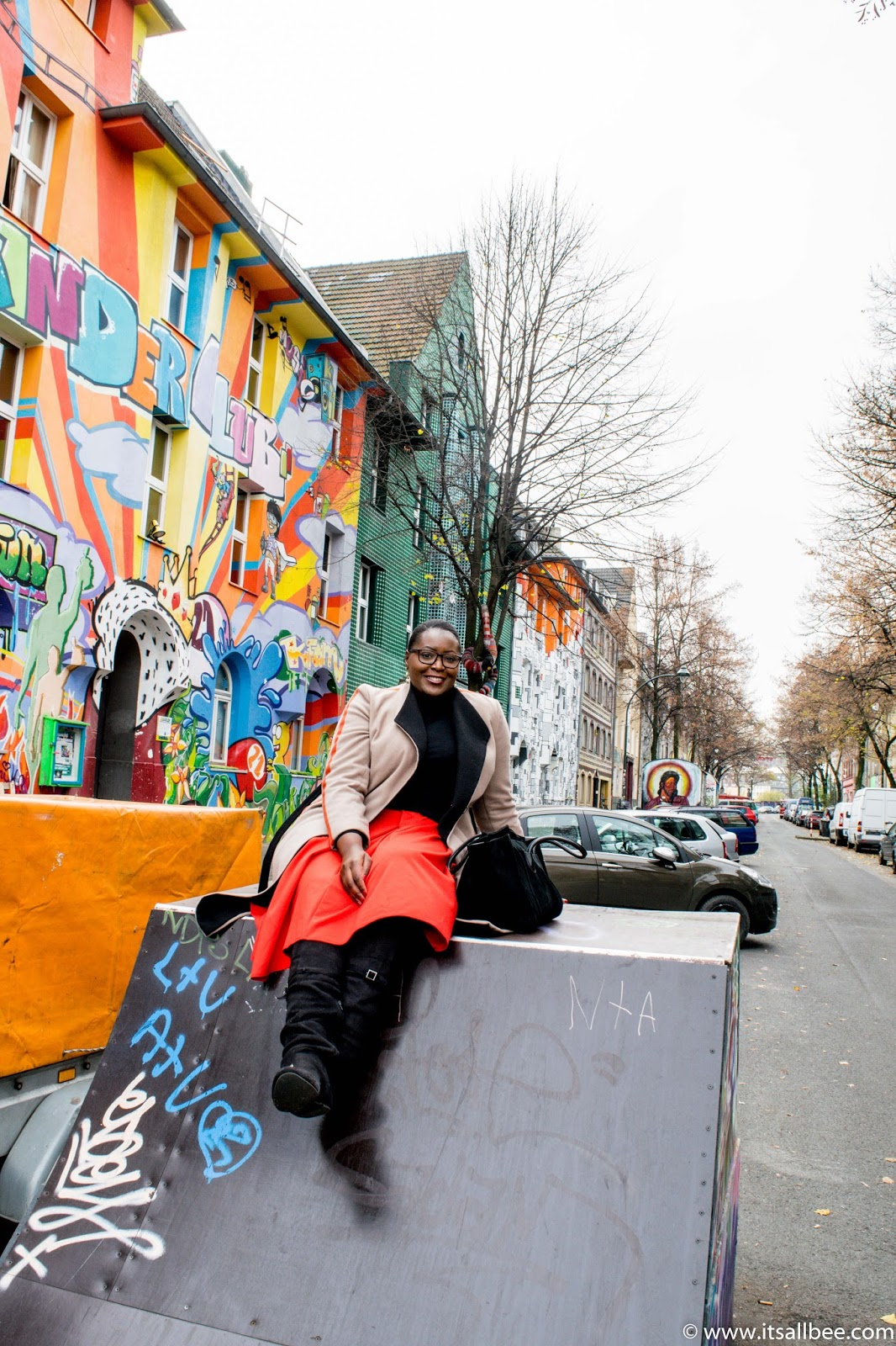 Kiefernstrasse Street Art | A Colourful Side of Dusseldorf You Need To See