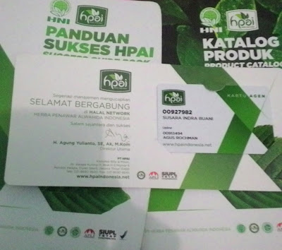 paket starter kit daftar member hpai offline