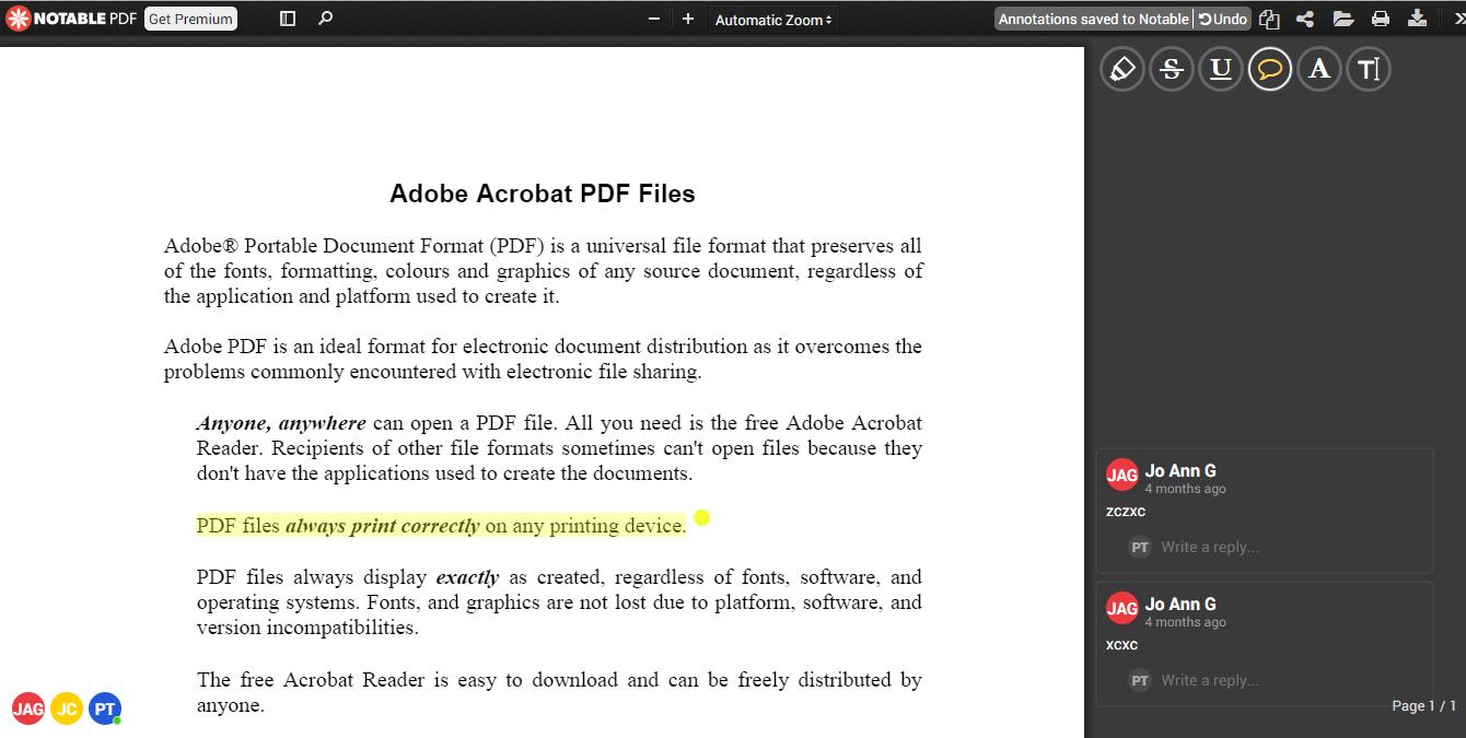 طريقة الكتابة على مستند pdf