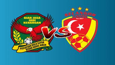 Live Streaming Kedah vs Selangor United Piala FA 3.4.2019