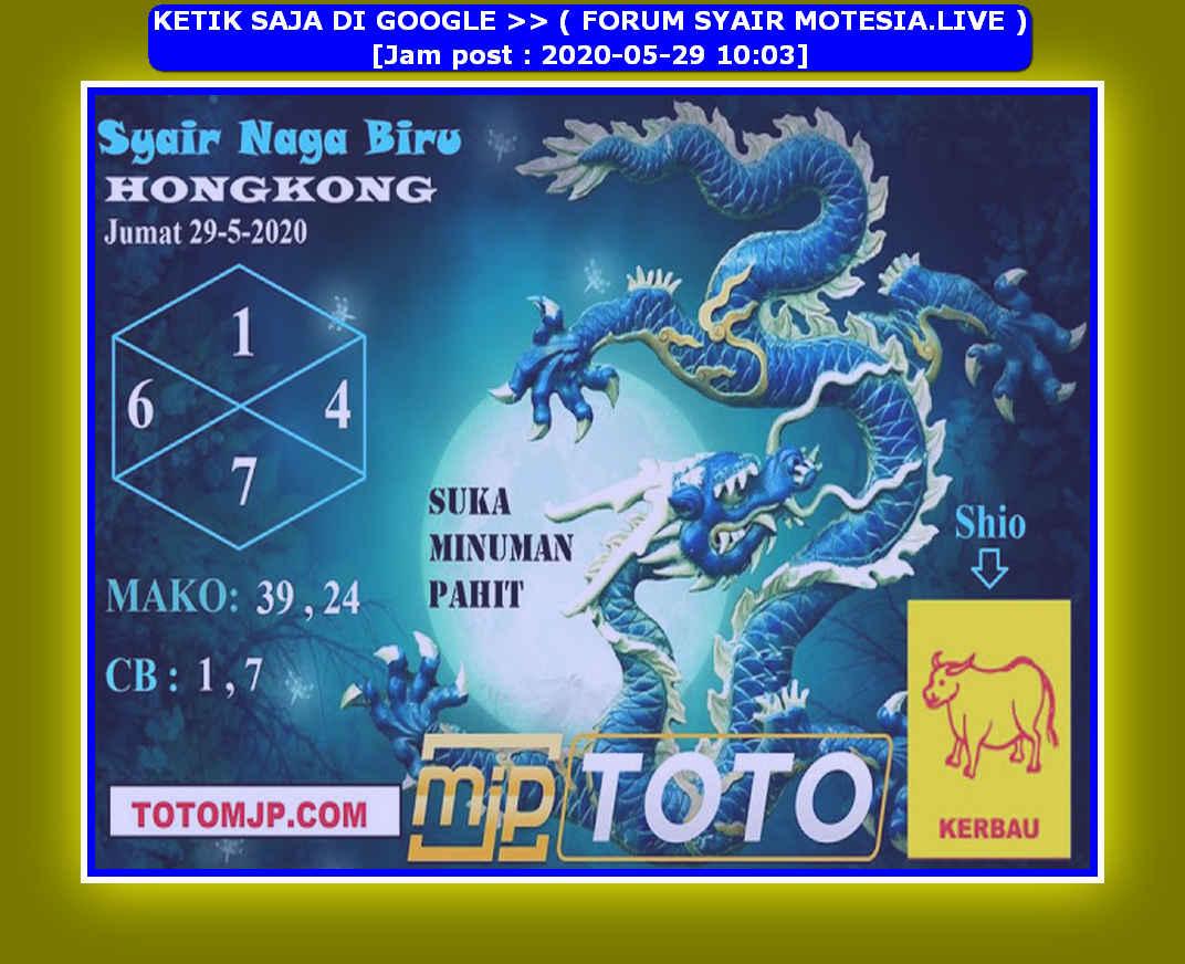 Kode syair Hongkong Jumat 29 Mei 2020 158