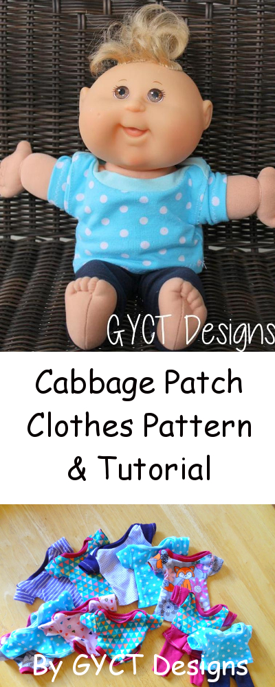Cabbage Patch Clothes - Free Pattern