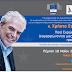 Πέμπτη 18 Μαΐου :Διάλογος Πολιτών με τον Ευρωπαίο Επίτροπο κ. Χρήστο Στυλιανίδη στα Ιωάννινα