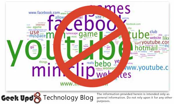 How to Access Facebook & Google+, When it's Blocked At School or Office [Solution]