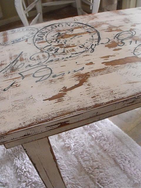 Transformar un mueble con estarcidos decoshabby - Transformar un mueble ...