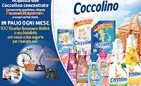 Logo Con Coccolino vinci 700 voucher, biciclette, coperte e cesti da pic nic