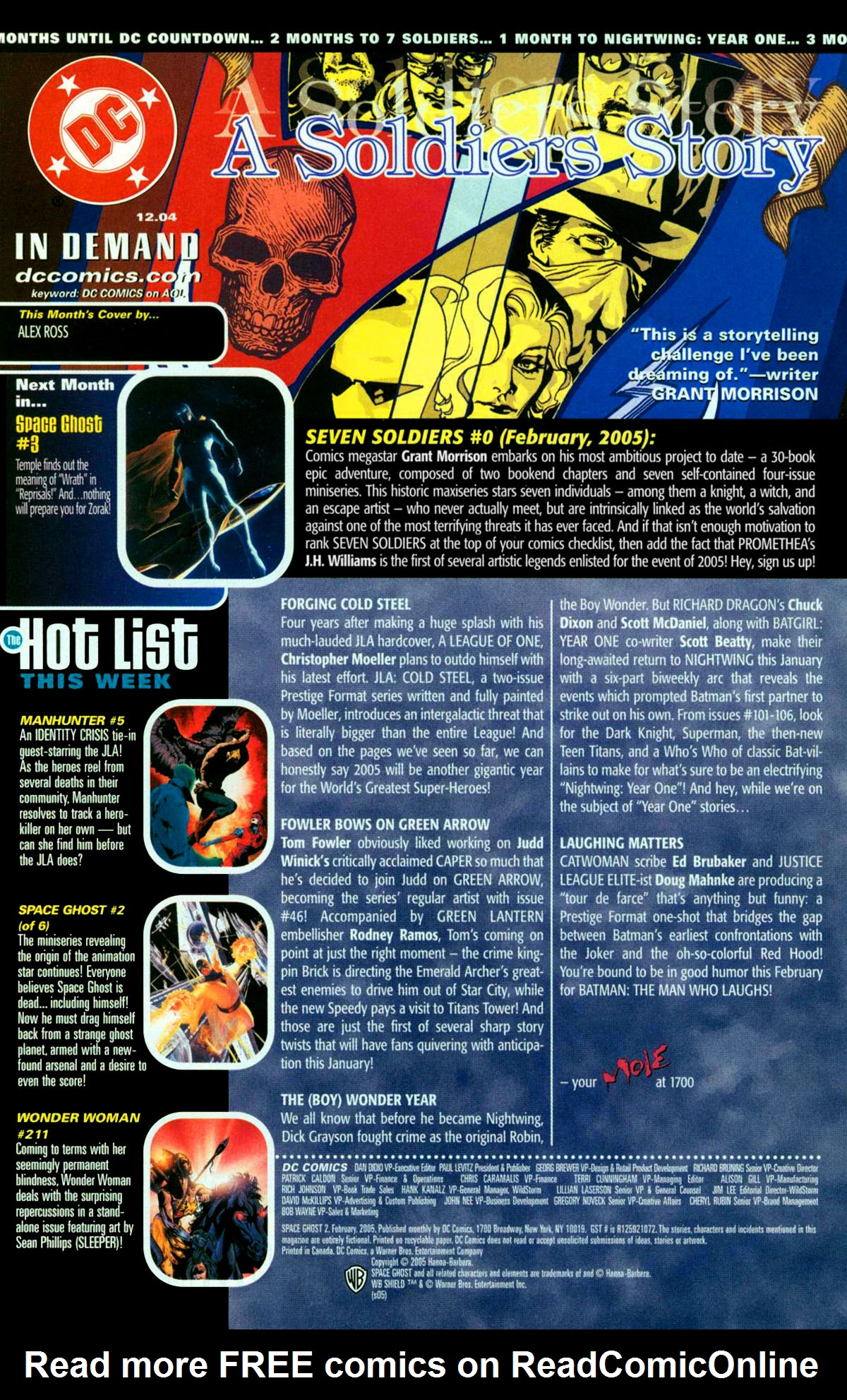 Read online Space Ghost (2005) comic -  Issue #2 - 23
