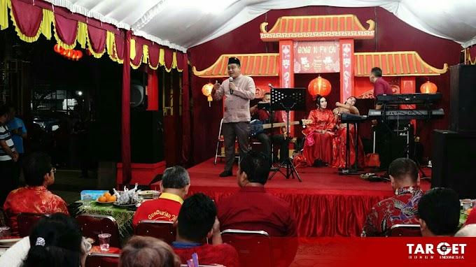 Hadiri Perayaan Cap Go Meh, Safin Harapkan Tionghoa Perantauan Tanamkan Investasinya di Pati