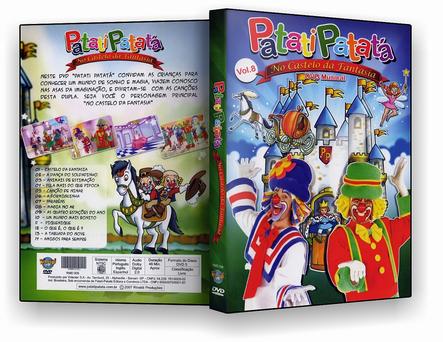 CAPA DVD – Patati Patata – No Castelo dos Sonhos – ISO
