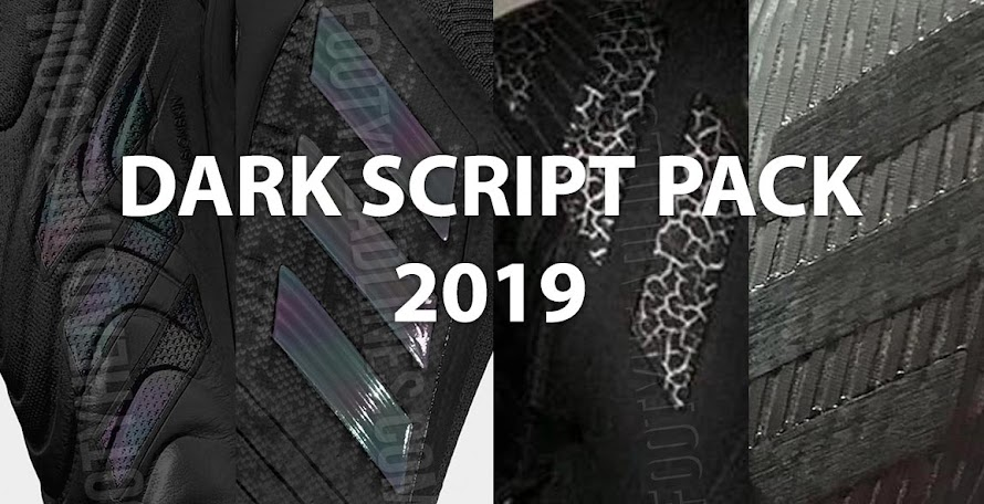 f8ab7605a2d9 Incl. Next-Gen Nemeziz & X - Adidas 2019-20 'Dark Script' Black Pack Leaked