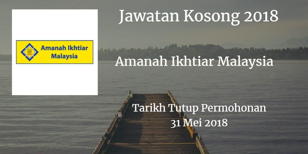 Jawatan Kosong AIM 31 Mei 2018