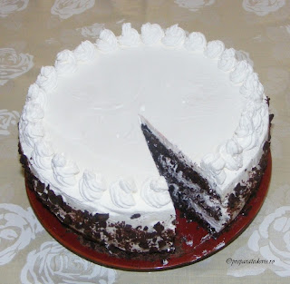 Tort Foret Noir retete culinare,