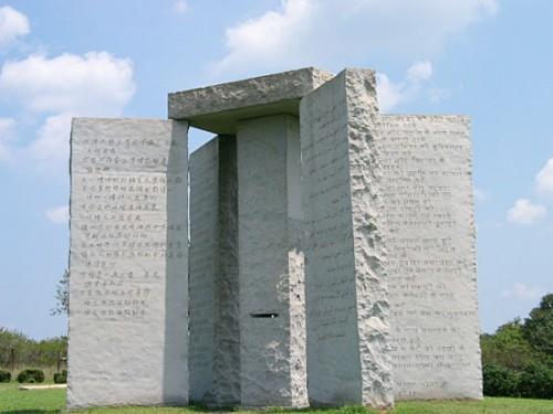 Sitios de siniestro: Las piedras guía de georgia