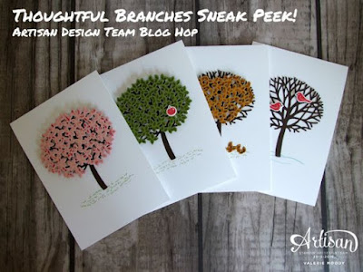 Thoughtful Branches Valerie Moody Stampin Up Design Team