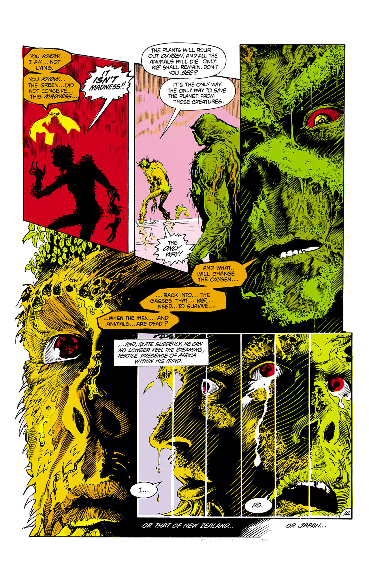 Swamp Thing (1982) Issue #24 #32 - English 15