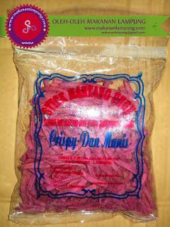 Stick Ubi Ungu Khas Lampung, Stick Ubi Ungu