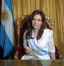 Cristina Kirchner - Presidentes de la República Argentina - Presidentes Argentinos
