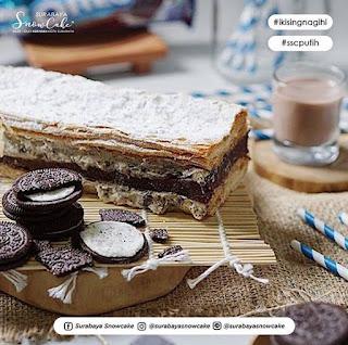 Varian Rasa dan Harga Surabaya Snow Cake Terbaru