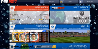 Download DLS 2016 v3.05 Mod PES 2017 Apk + Obb Android