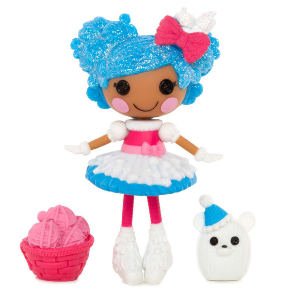 Mini Lalaloopsy Super Silly Party Doll- Mittens Fluff 'N' Stuff