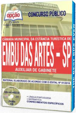 Apostila Câmara de Embu das Artes Auxiliar de Gabinete